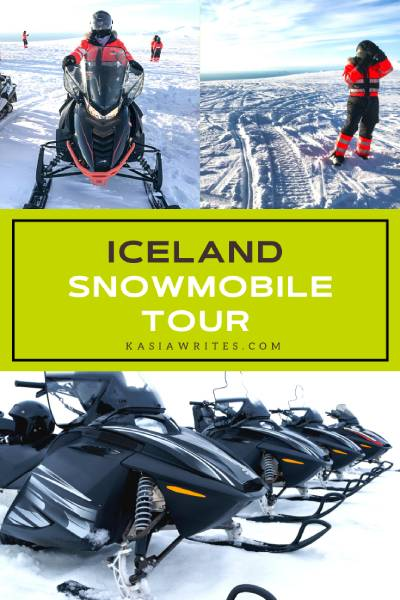 My epic glacier snowmobile tour in Iceland   kasiawrites cultural travel
