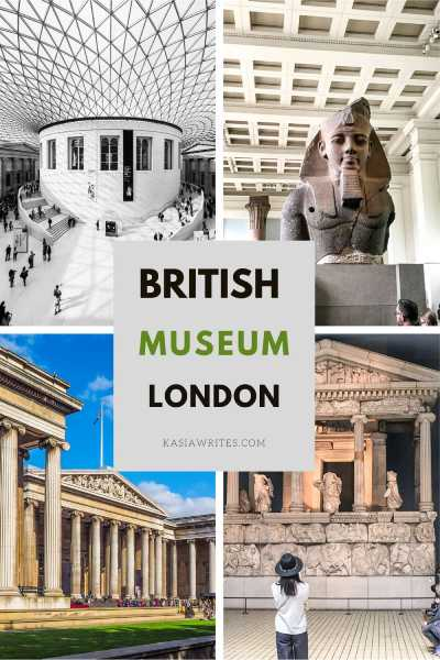 Visiting British Museum in London