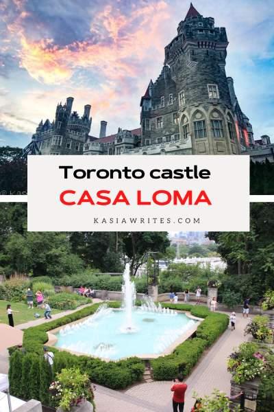 Toronto castle Casa Loma