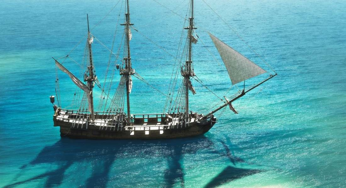 travel in the past involved ships