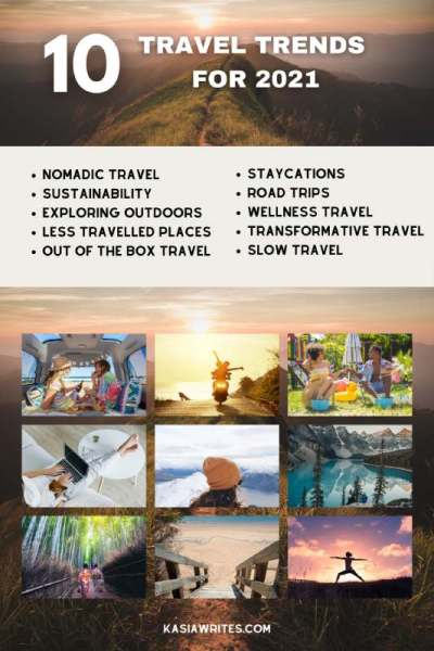 10 Important travel trends for 2021 and beyond | kasiawrites cultural travel