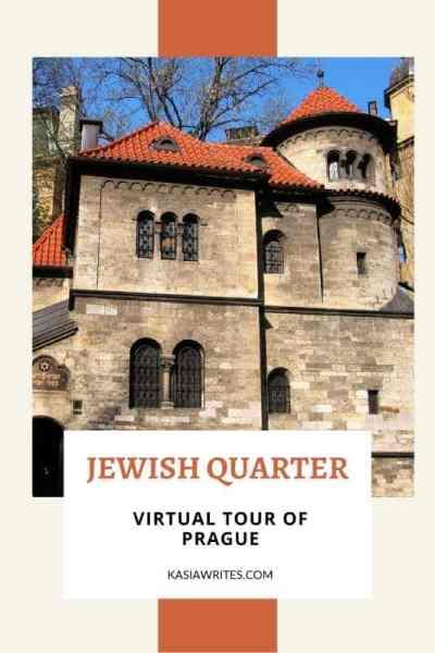 Prague's Jewish Quarter virtual experience: unveil incredible stories of the past | kasiawrites cultural travel