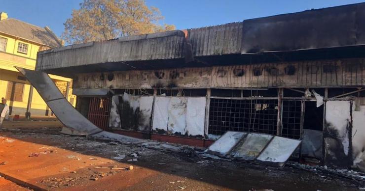 Looting in Gauteng