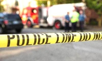 Man shot dead inside bank