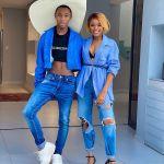 Lasizwe and Natasha Thahane