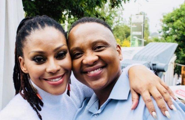 Letoya Makhene & lesbian lover