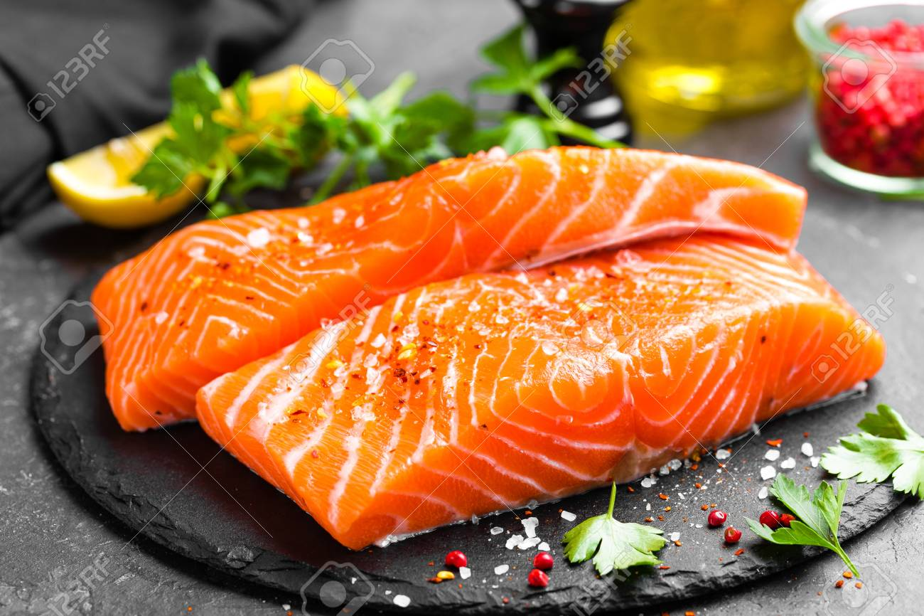 Fresh Order Salmon Panini