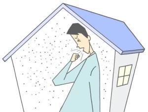 シックハウス症候群の対策に空気清浄機は有効かどうか