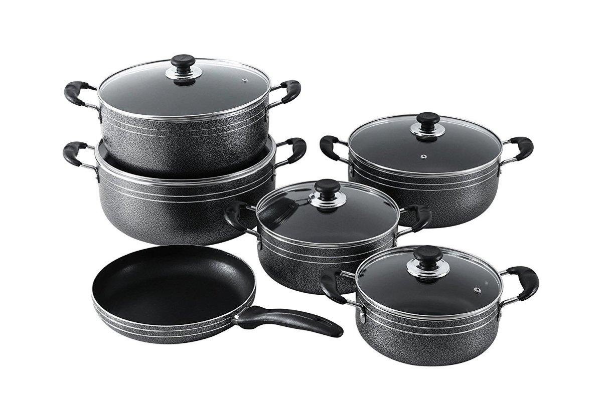 11pcs non stick cookware set