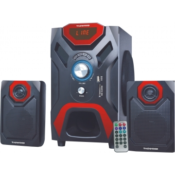TAGWOOD MP-2166 Multimedia 2.1 Subwoofer With Bluetooth