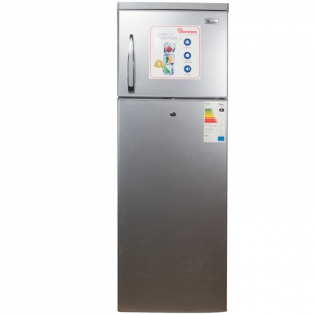 350 LITERS 2 DOOR DIRECT COOL FRIDGE, SILVER- RF/241