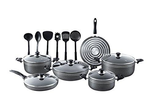 17pcs Non stick cookware set