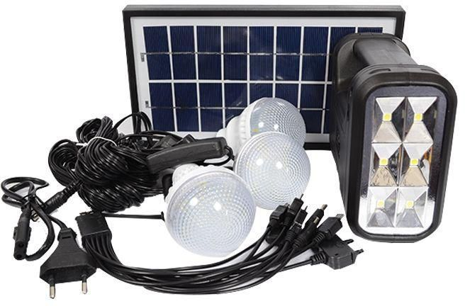 GDLITE GD 8017 Solar Lighting System with Search Light