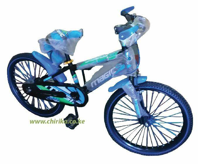 Size 20 Magic bicycle-Red/Blue/Yellow
