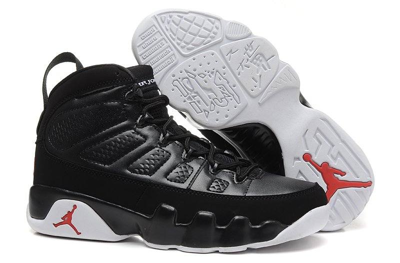 Nike Air Jordan 9 Retro IX Anthracite White Black Shoes 302370 013 Unisex