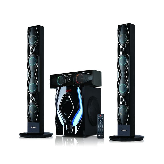 Sayona 3.1 Channel Speaker Subwoofer with Bluetooth (SHT-1204BT)