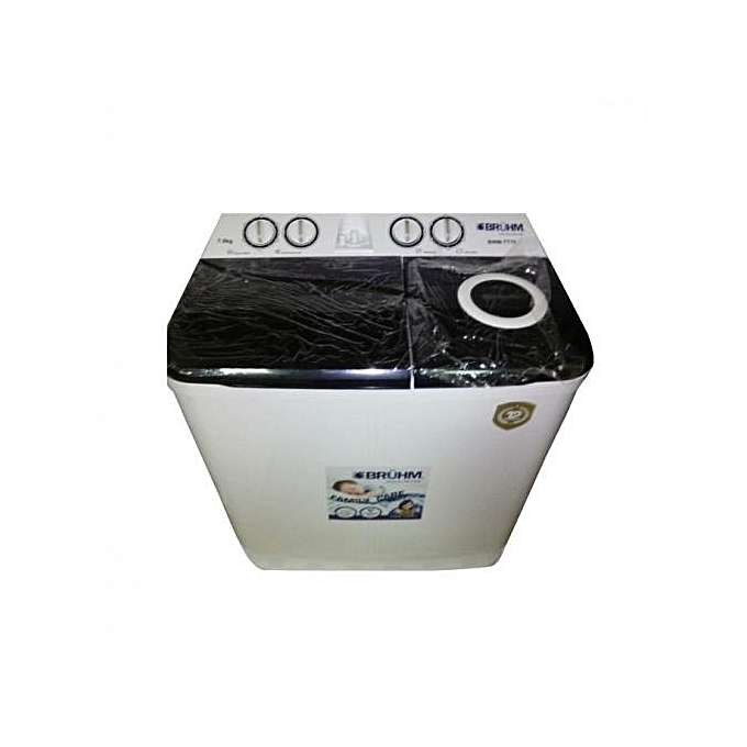 Bruhm BWM-TT70 Twin Tub Washing Machine 7kg