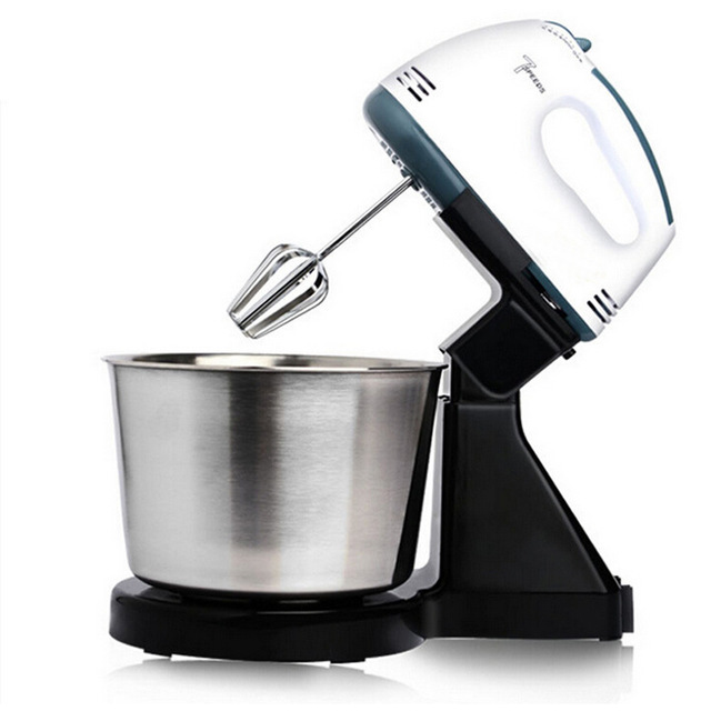 Scarlett 7 Speed Hand Mixer with Stand Mixer With Stainless Steel Bowl