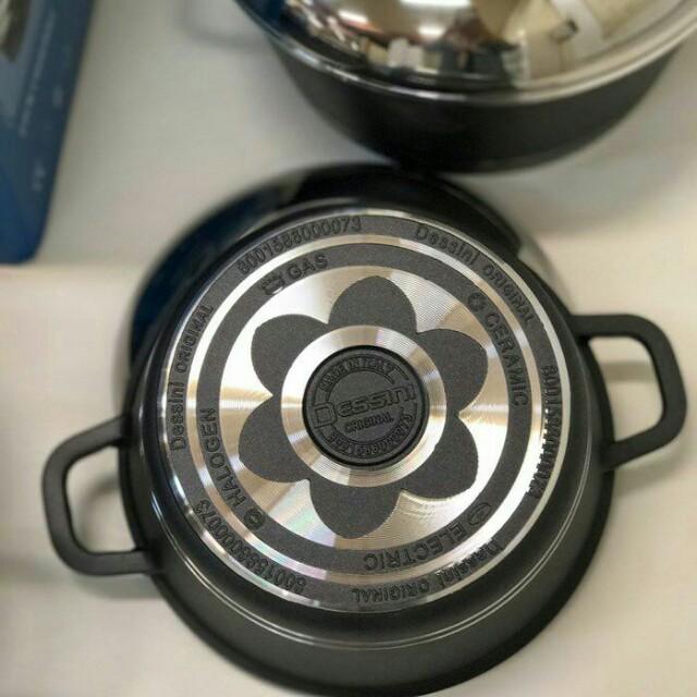 Dessini 10pcs non stick cookware set