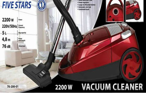 Five Stars Vacuum Cleaner-5L