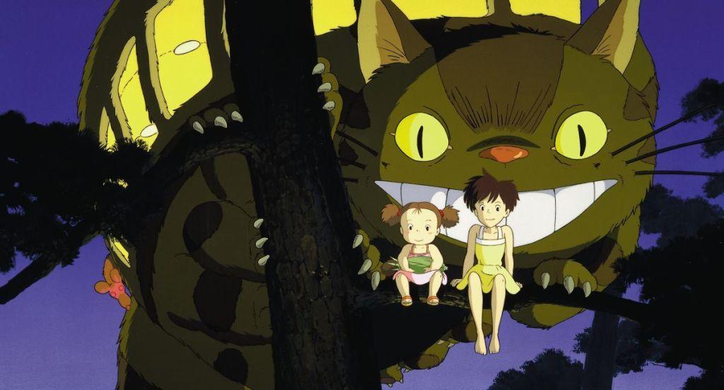 final scene totoro
