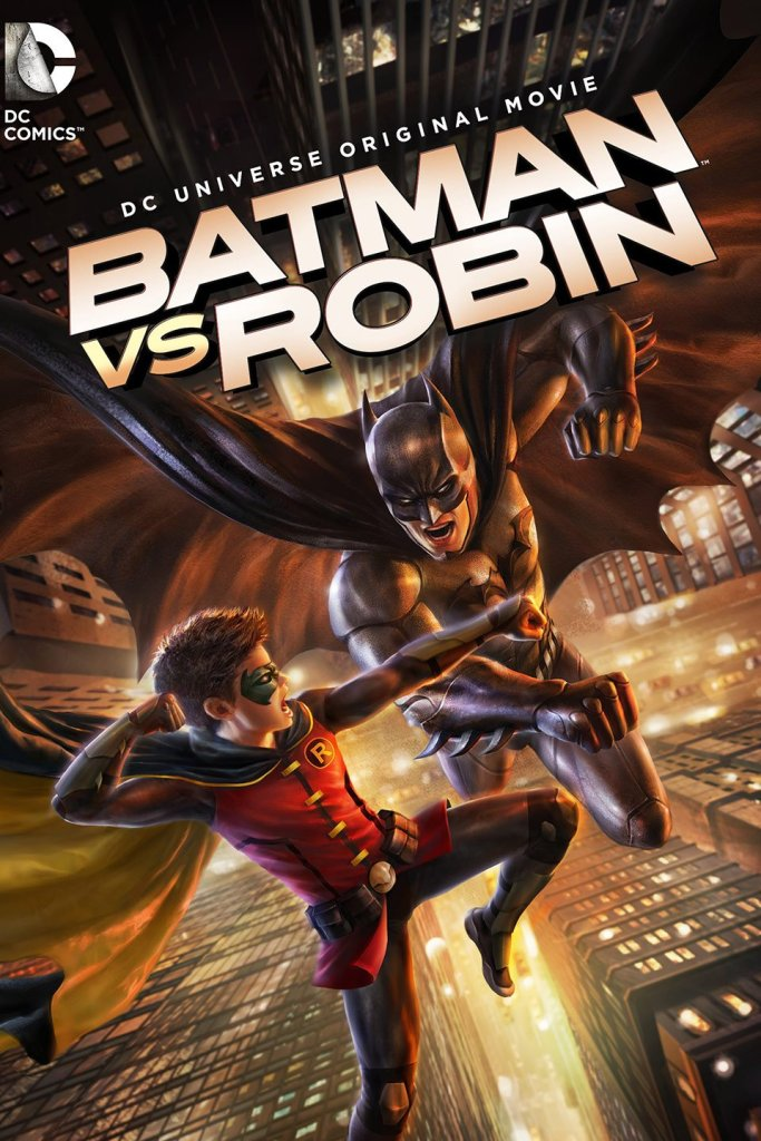 Batman Vs Robin Cover