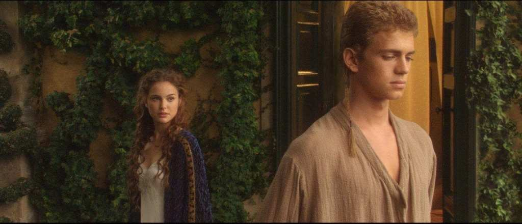 Padme and Anakin