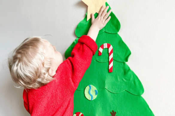 The Perfect Christmas Tree for Toddlers