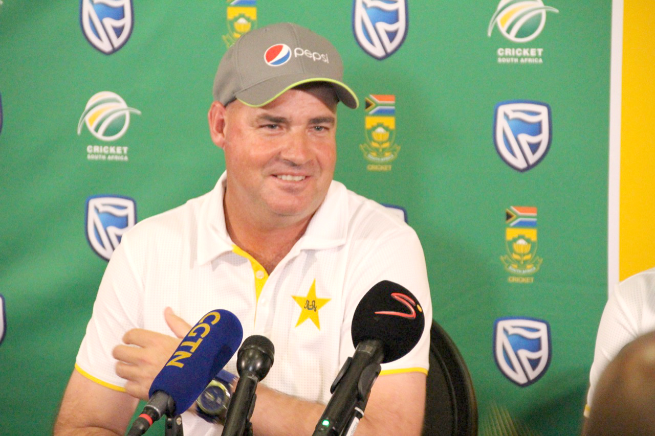 Arthur looked fresh, genuinely happy, and really excited to take one a massive challenge against South Africa in the upcoming Test series. Photo: Ryk Meiring