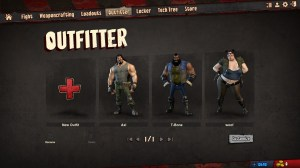 Loadout characters