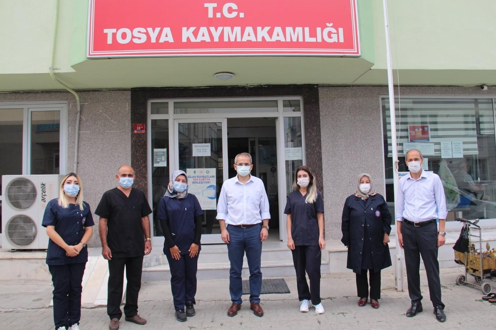 Tosya'da 'Yalnız Değilsiniz' projesi üçüncü kez uygulanacak