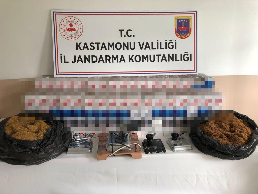 Jandarma ekiplerinden kaçak tütün operasyonu: 41 bin 180 adet bandrolsüz sigara ele geçirildi