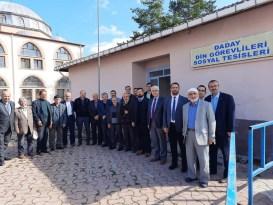 Kastamonu'da emekli din görevlilerine yemek ikram edildi