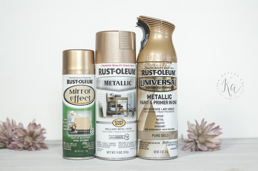Brushed Nickel Finish Spray Paint
