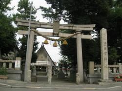 米日吉神社遠景