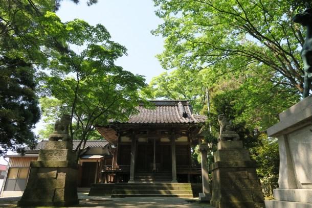 宇佐八幡神社拝殿