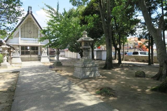 米泉 米日吉神社 境内の様子1