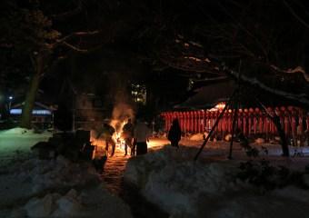 (令和3年)金沢市増泉 春日神社の左儀長について