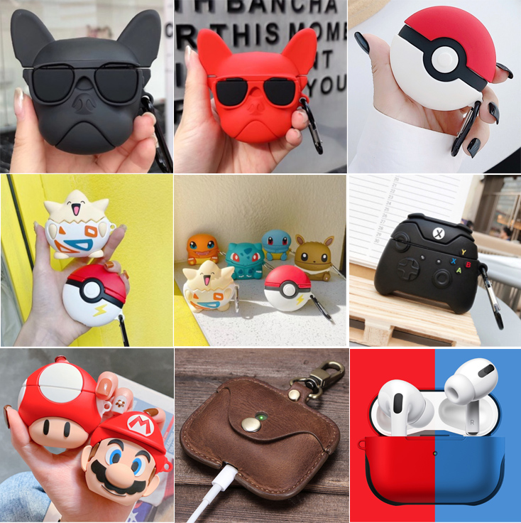 2020 Best Charging Airpods Pro Case Cover Tpu Leather Clear Anime