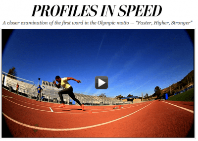 profiles in speed