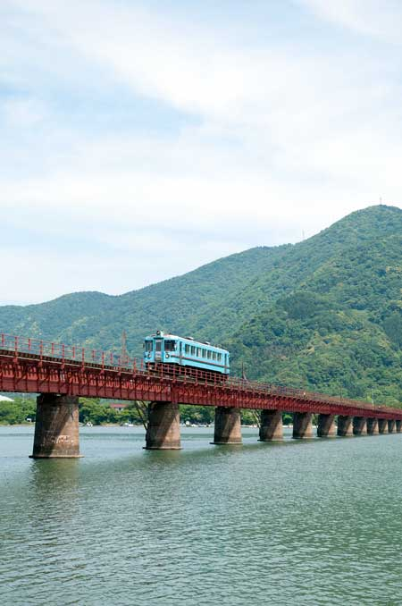 北近畿丹後鉄道・由良川鉄橋