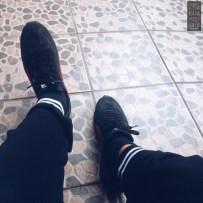 kaki-kaki sebelum lari