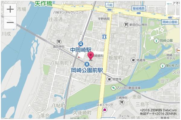 中岡崎駅東