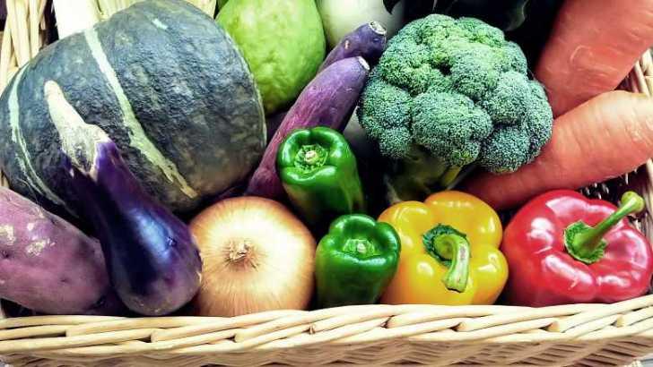 野菜の盛り合わせ画像