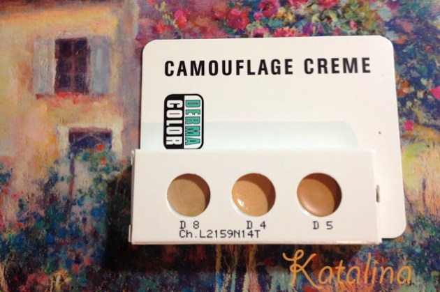 玩美雀斑妝 | KRYOLAN歌劇魅影「百分百調色幻顏盤 Dermacolor Camouflage Creme Trio Set」