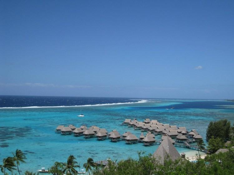 蜜月旅行到太平洋上的明珠   大溪地 Tahiti X 波拉波拉島 Bora Bora