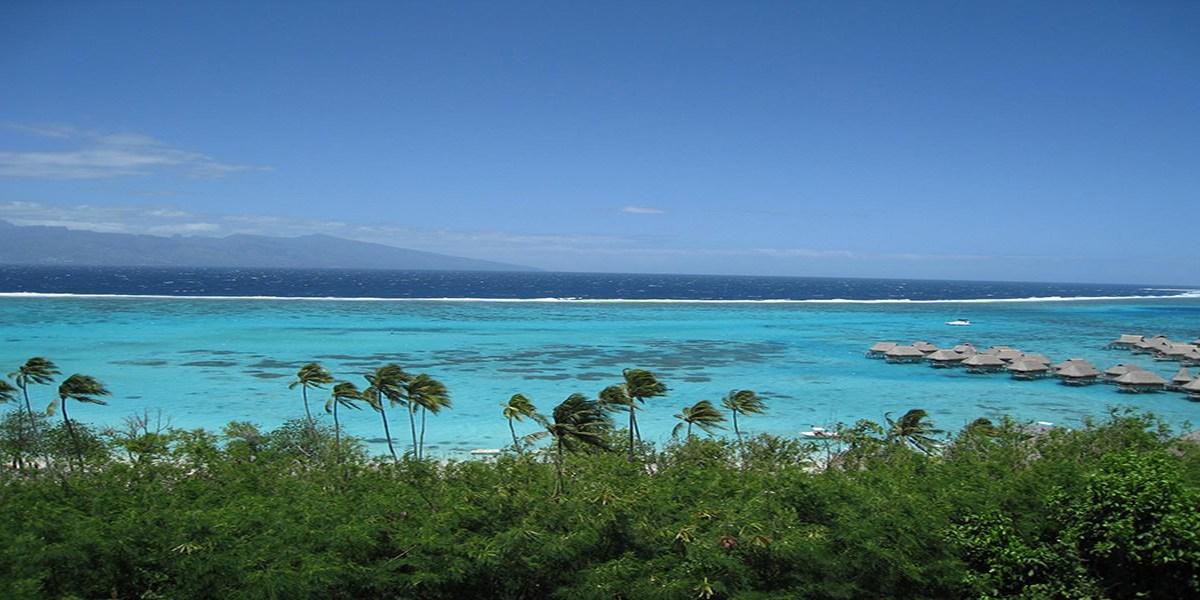 蜜月旅行到太平洋上的明珠   大溪地D2 茉莉亞島環島