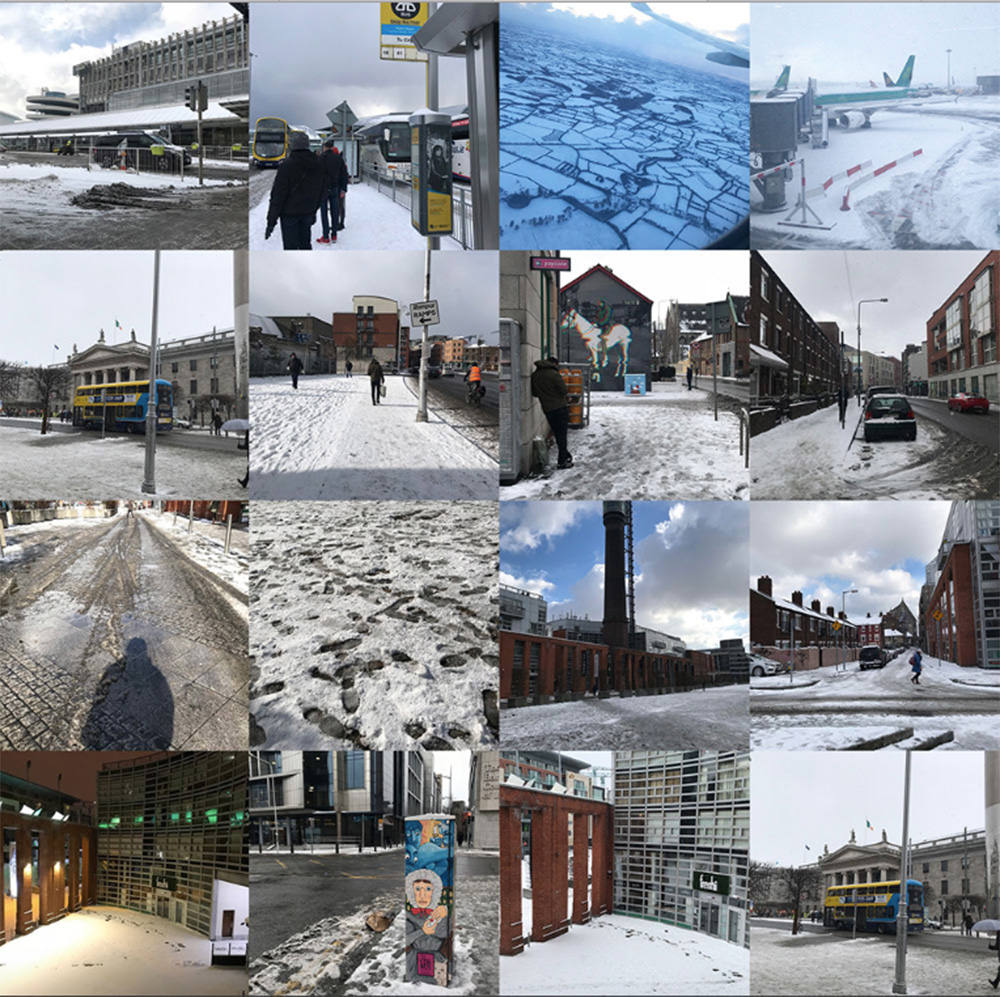 【愛爾蘭】用三月風雪角度 欣賞都柏林的美   交通攻略 X Generator Hostel文青時尚旅館 (含影片)
