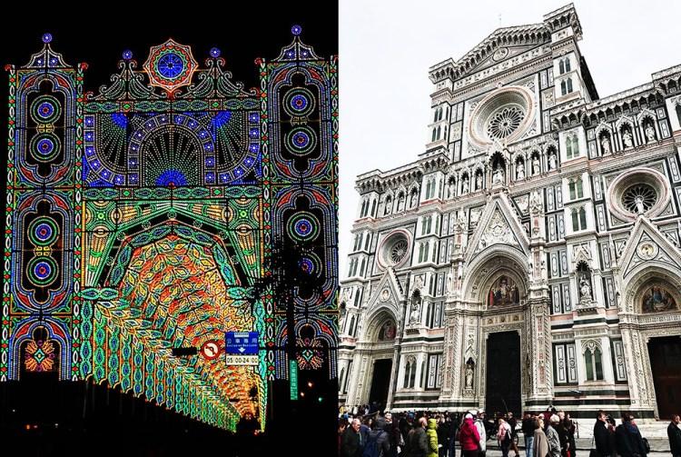 台北光之饗宴 Luminarie光雕展   再現佛羅倫斯 聖母百花大教堂樣貌