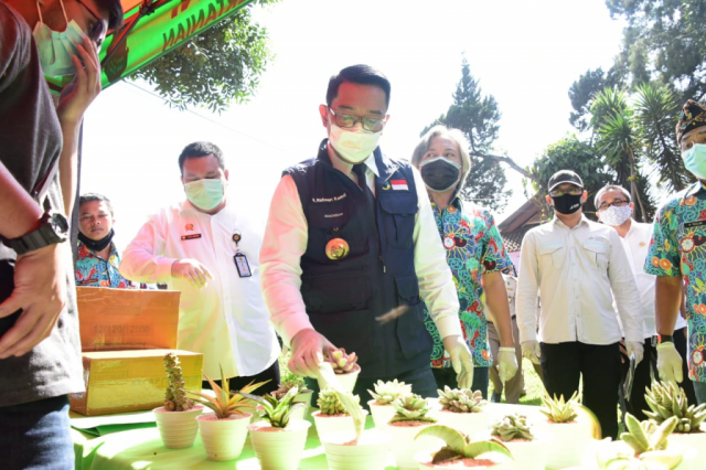 Ekspor Produk Unggulan Pangan Jabar di Masa Pandemi